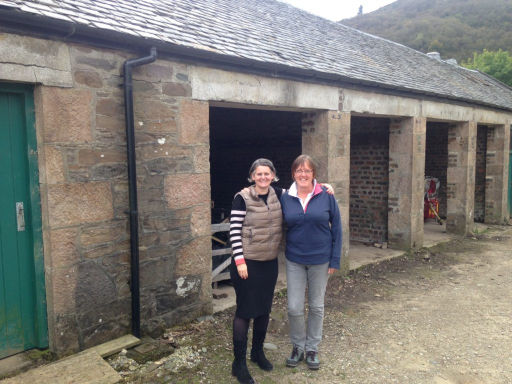 Head Distiller, Su Black (left) with Director, Emma Macalister Hall (right)