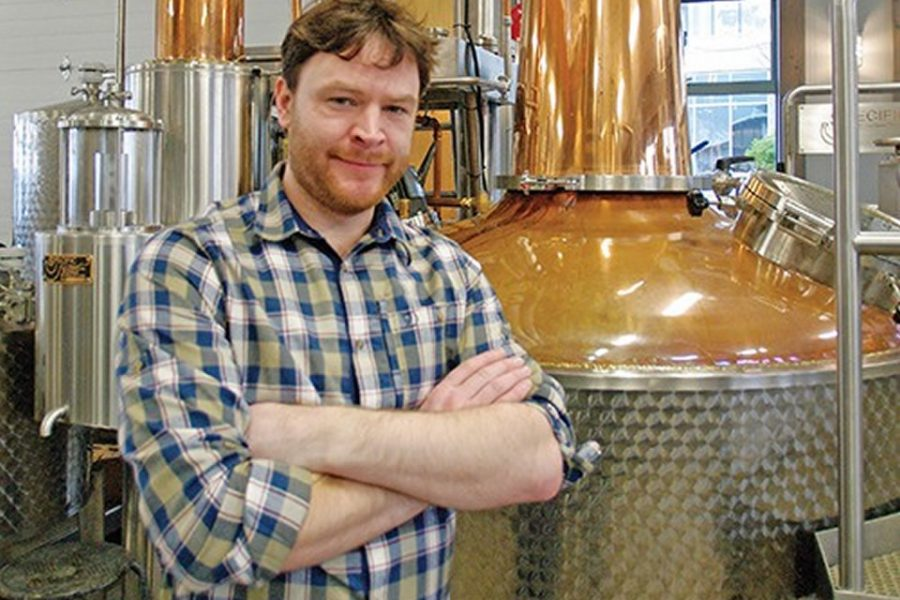 The Making of Kintyre Gin : Q&A with Leon Webb
