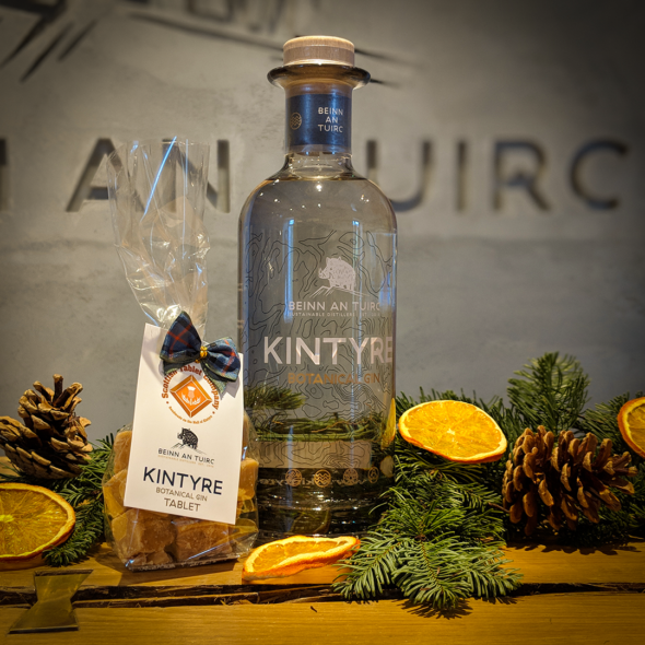 Kintyre Gin with Tablet
