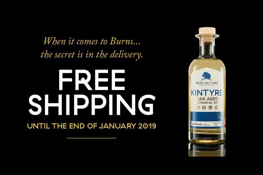 Burns Night Oak Aged Gin Offer