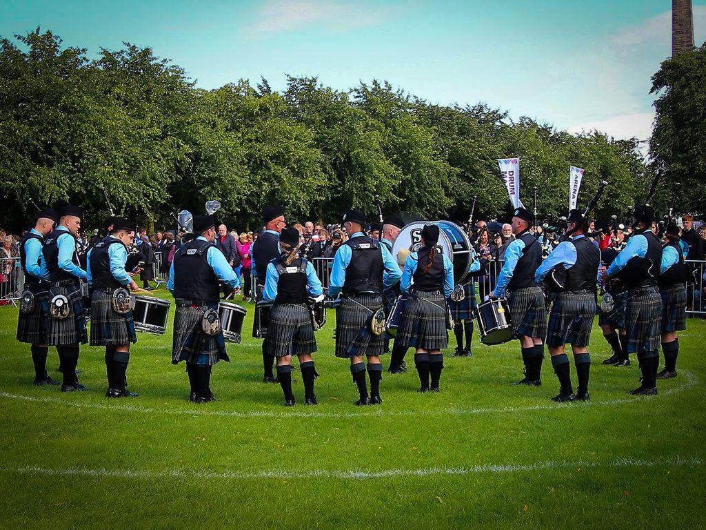 Beinn an Tuirc Kintyre Pipe Band