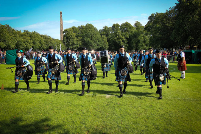 World Class Pipe Band