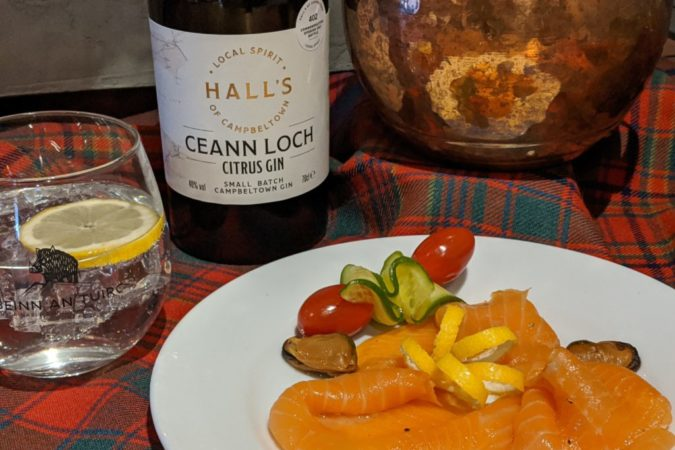 Burns Night with a Gin Twist