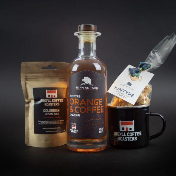 Orange and Coffee Liqueur Gift Set