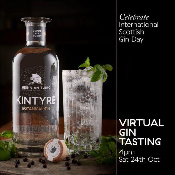 International Scottish Gin Day 2020 Virtual Tasting