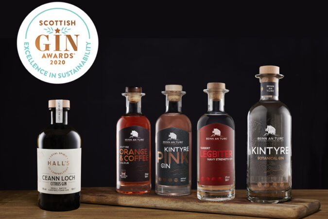 Success at the Scottish Gin Awards 2020